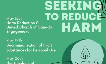 Seeking to Reduce Harm series, May 2021